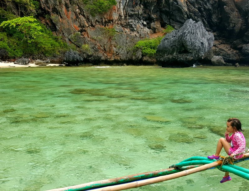 El Nido with kids: Discover hidden lagoons