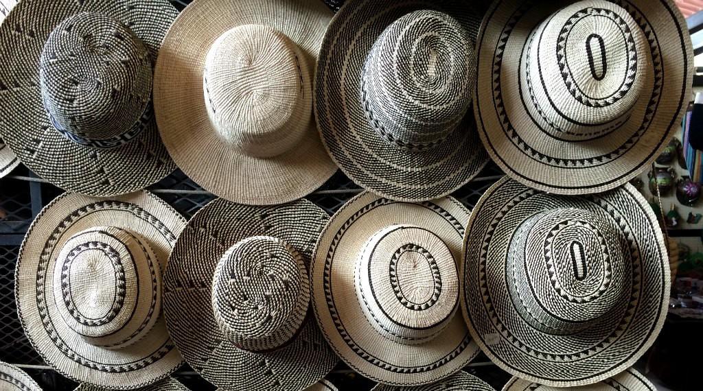 El Valle Sunday Market hats