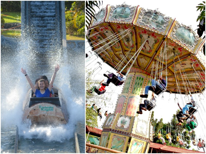 Manila weekend escapes with kids: Enchanted Kingdom