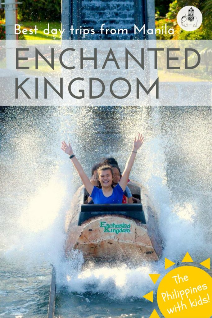 Best day trips from Manila, The Philippines: Enchanted Kingdom via @globetotting