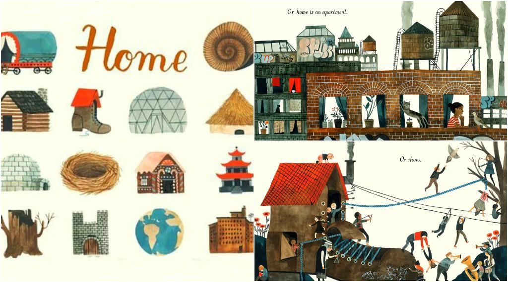 Best Books for Children Home by Carson Ellis
