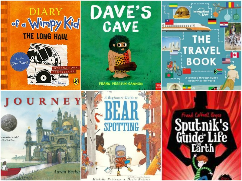 The Best Books for Kids that love to Travel