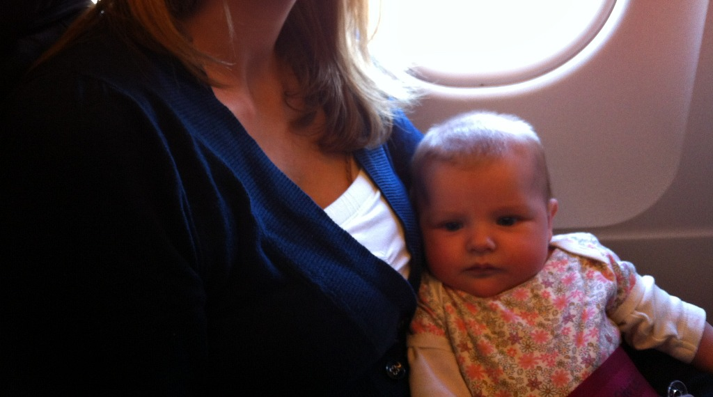 Flying with a (very cute) baby