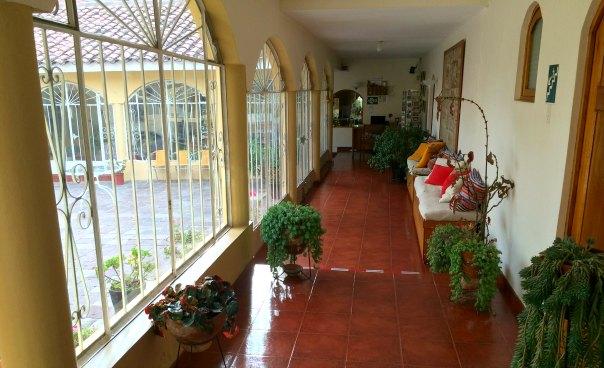 Garden House corridor