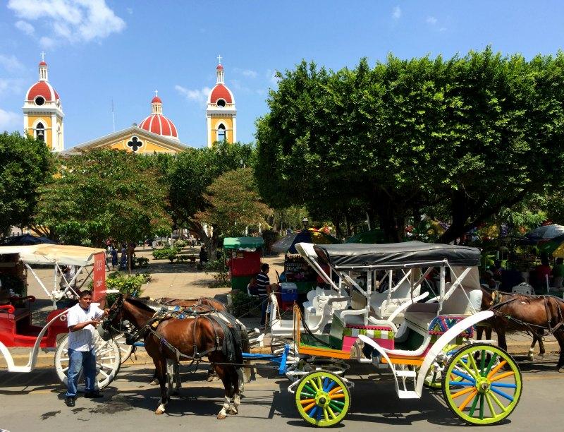 Horse-Drawn carriage ride around Granada, Nicaragua