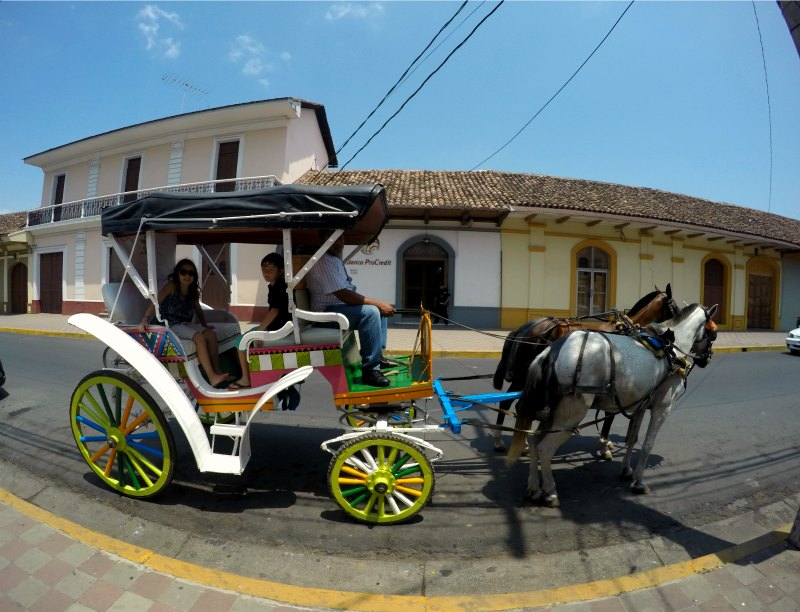 Horse-Drawn Carriage Ride in Granada, Nicaragua