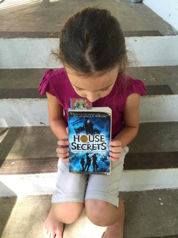 Best Children's Books for Christmas House of Secrets by Chris Columbus and Ned Vizzini