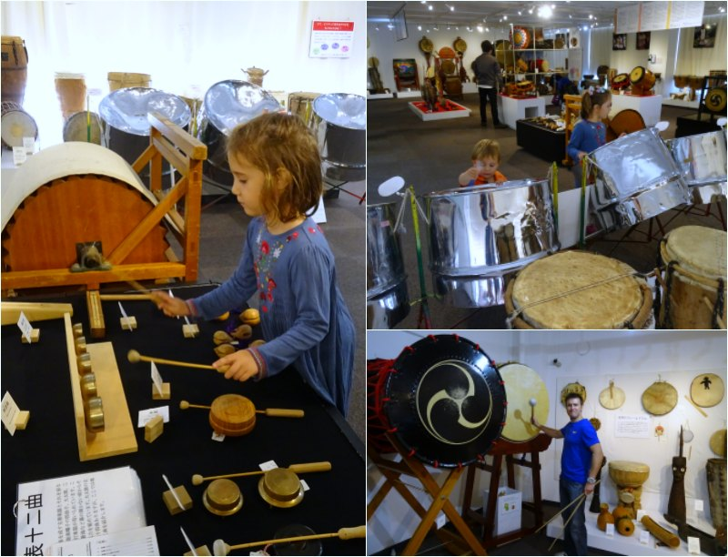 Tokyo with Kids: The drum museum