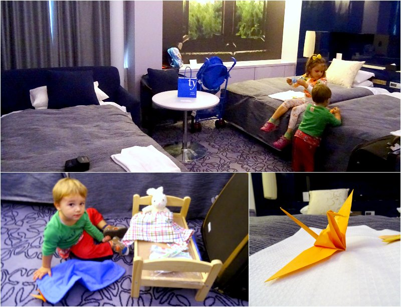 Japan where to stay kids Shiba Park Hotel, Tokyo