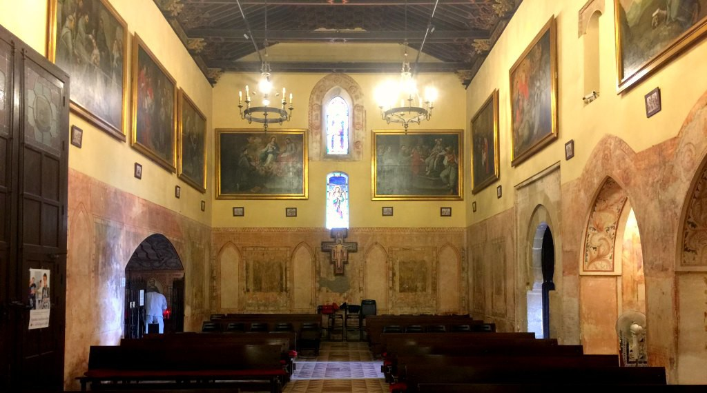 The Gothic-Mudéjar chapel in La Rábida