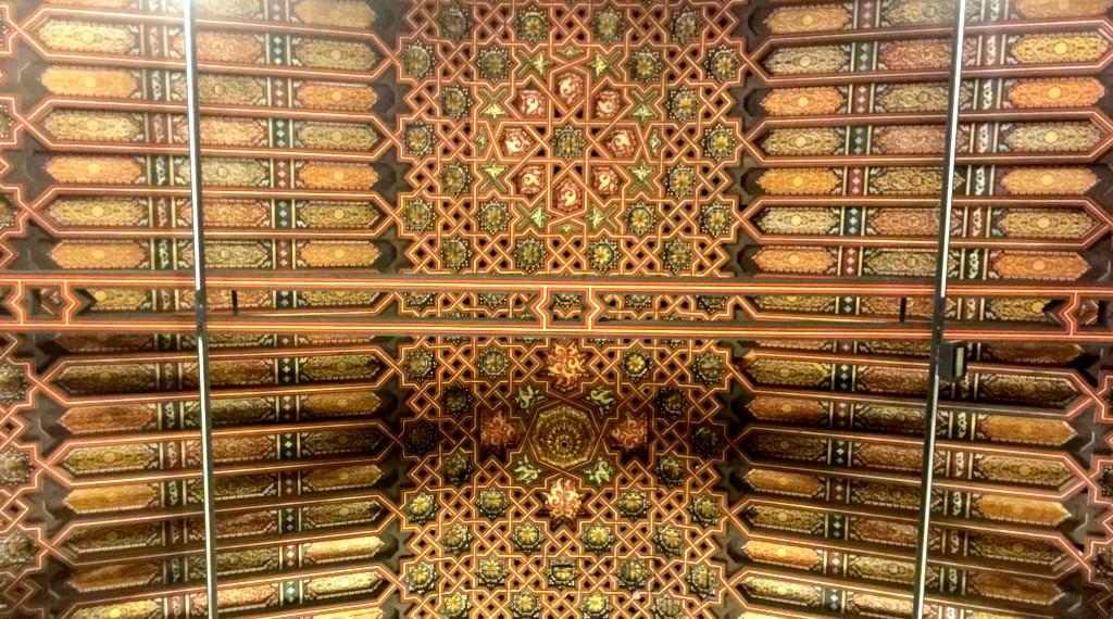 The chapel ceiling in La Rábida