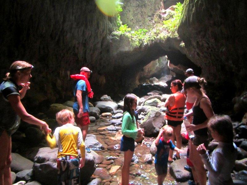 Panama snake adventure: A cave tour of Lake Bayano