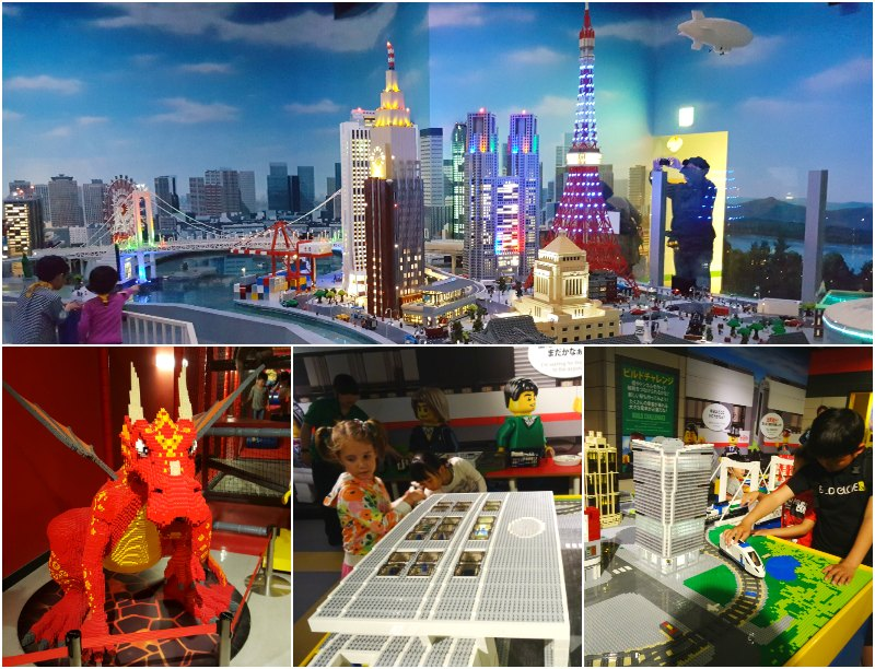 Tokyo with kids: Legoland in the Odabai District