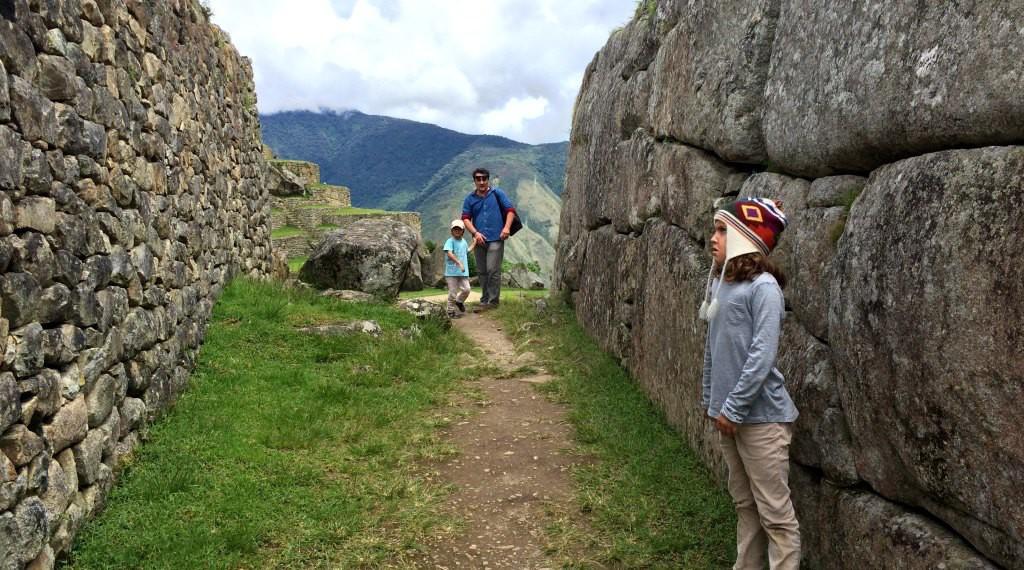 The city of Machu Picchu