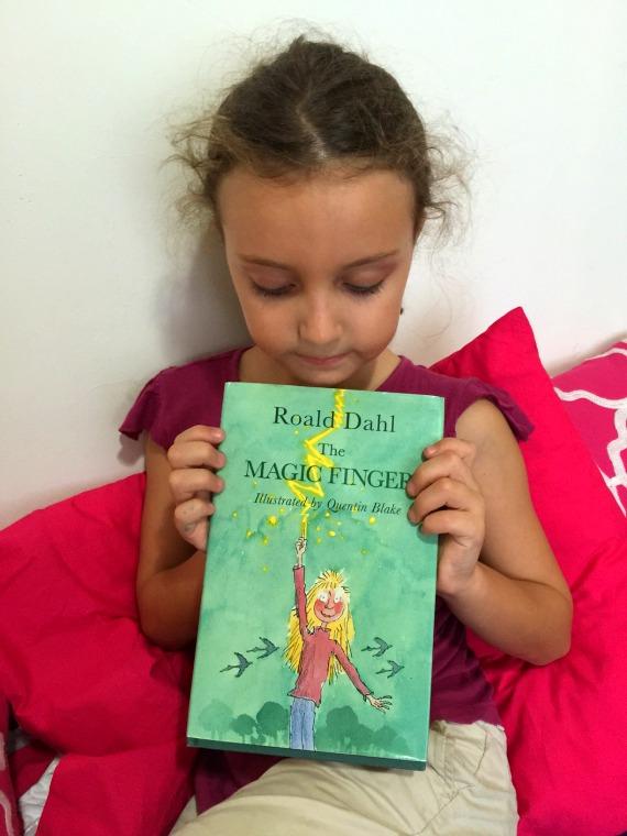 Best Children's Books for Christmas The Magic Finger by Roald Dahl