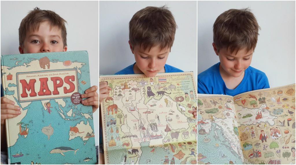 Best Children's Books for Christmas Maps by Aleksandra Mizielinska and Daniel Mizielinkski