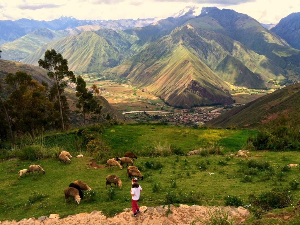 Beautiful scenery in Peru