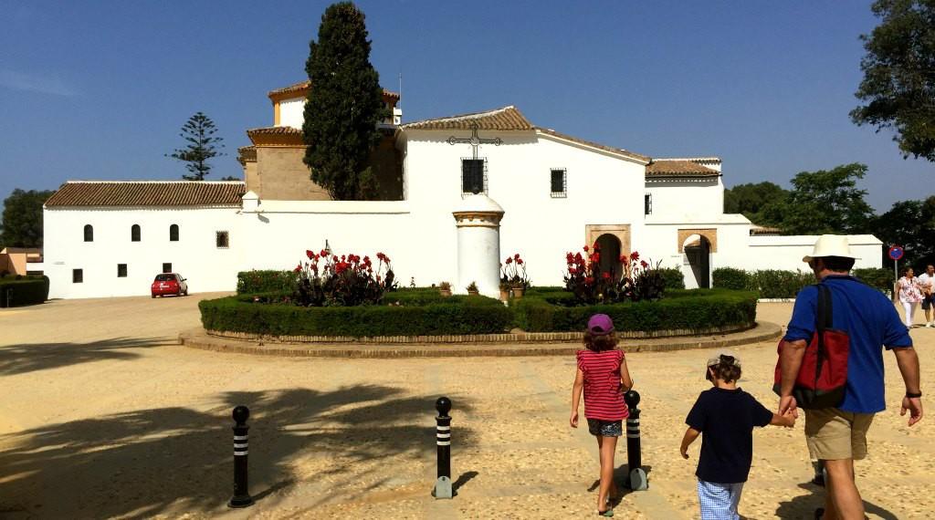 The Monastery of La Rábida in Huelva, Spain
