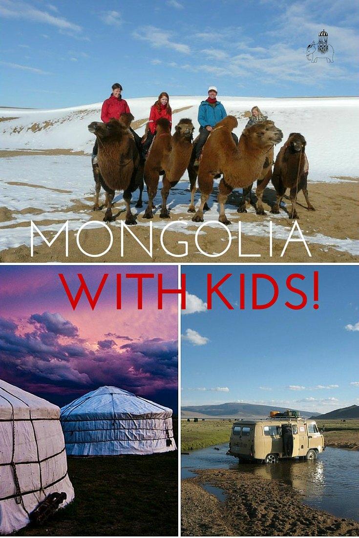 Family Travel in Mongolia