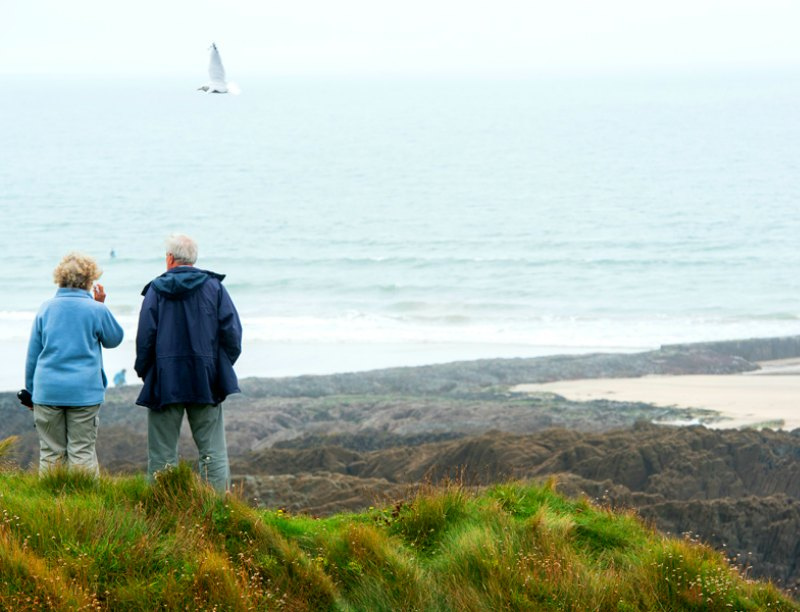 Activities in North Devon for kids: searching for pirates
