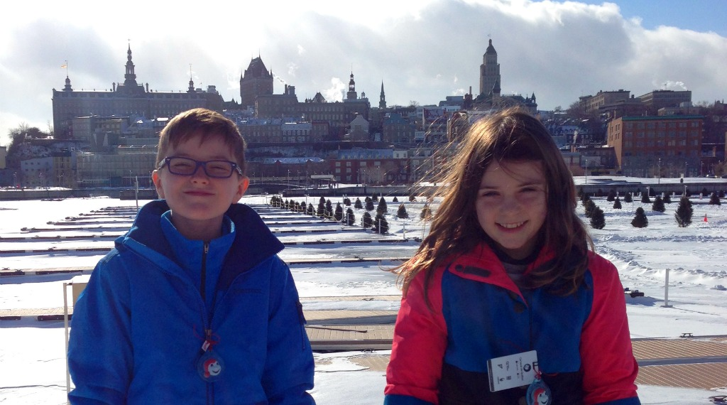 Canada for Kids: The Magical Winter of Québec