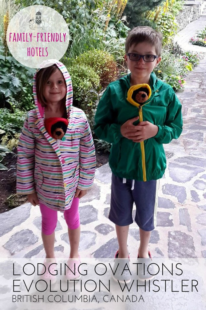 Hotel review for families: Lodging Ovations Evolution Whistler, British Columbia, Canada