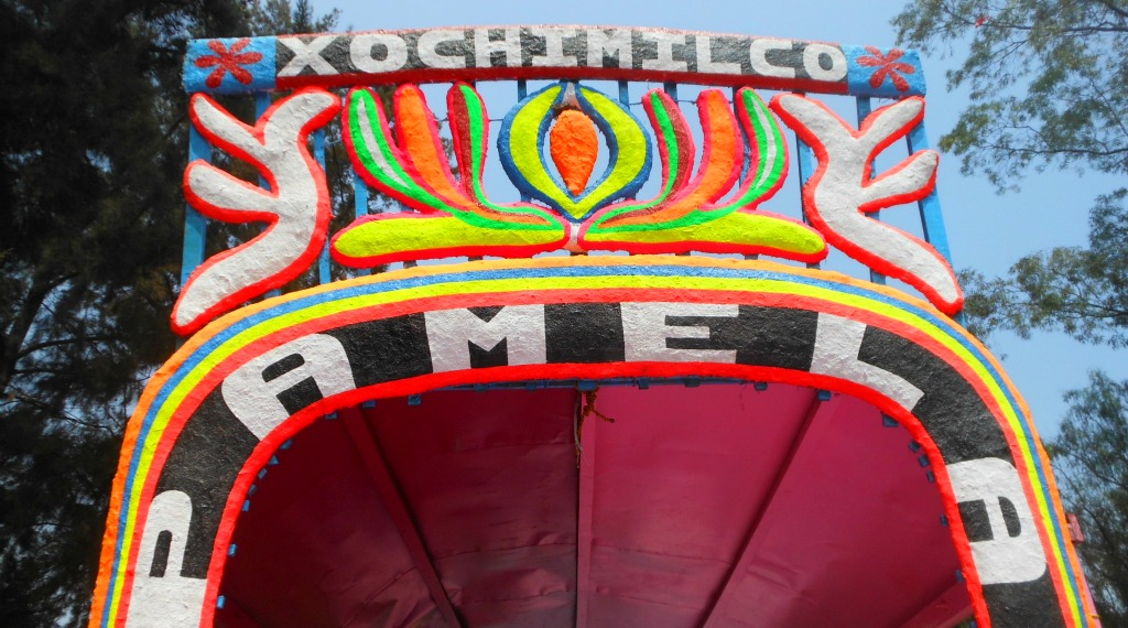 Mexico City with Kids: The Colourful Ancient Canals of Xochimilco