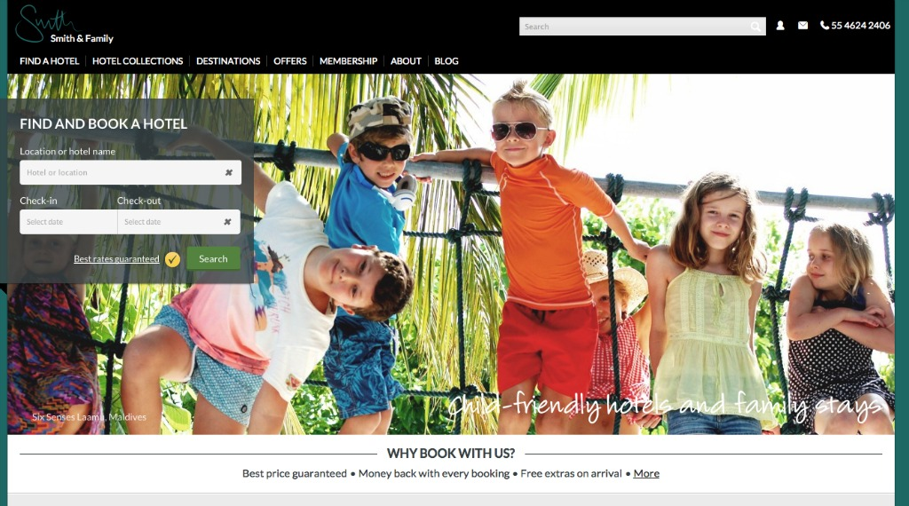 5 Favourite Family holiday websites