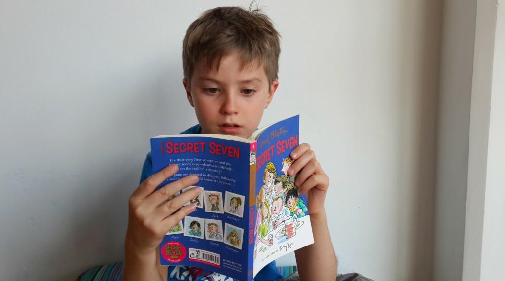 Best Children's Books for Christmas The Secret Seven by Enid Blyton