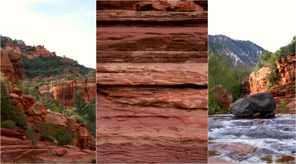 The red rock at Sedona