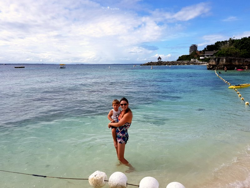 Shagrila Cebu beach 2