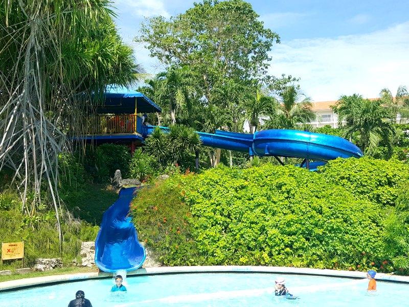 Shangrila Cebu pool slide