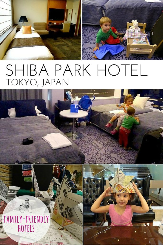 Family Hotel Review: Shiba Park Hotel in central Tokyo, Japan