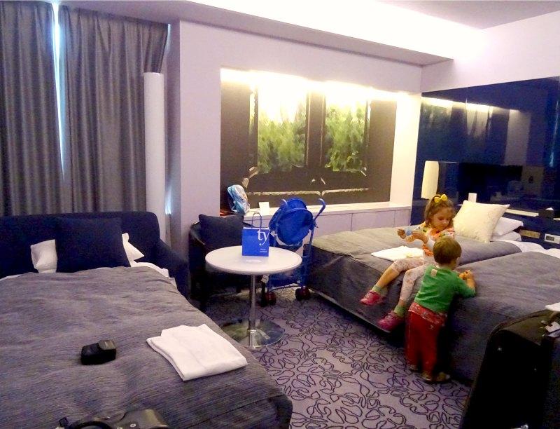 Rooms at Shiba Park Hotel