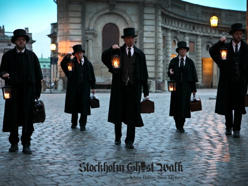 Things to do in Stockholm with Kids: Ghost Walk