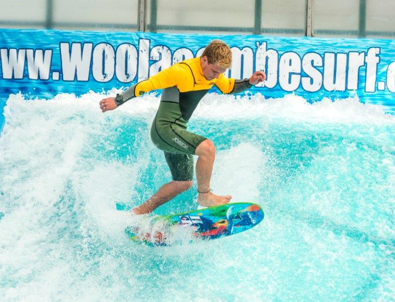 Activities in North Devon for kids: surfing