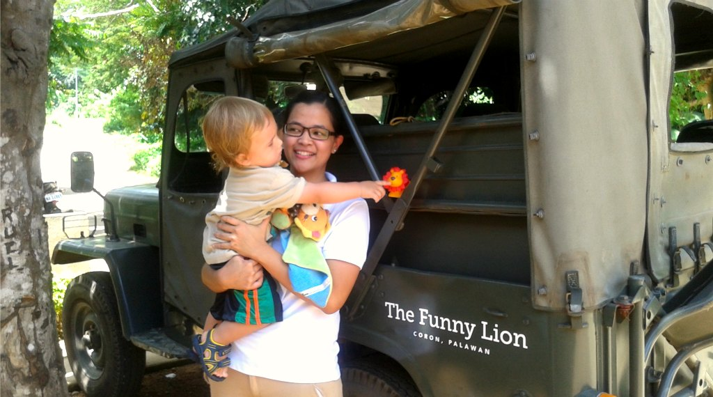 The Funny Lion Jeep