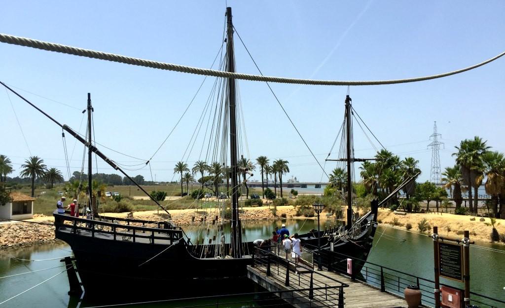 The boats of Christopher Columbus: La Pinta