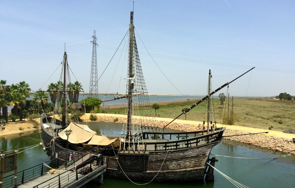 The boats of Christopher Columbus: La Niña