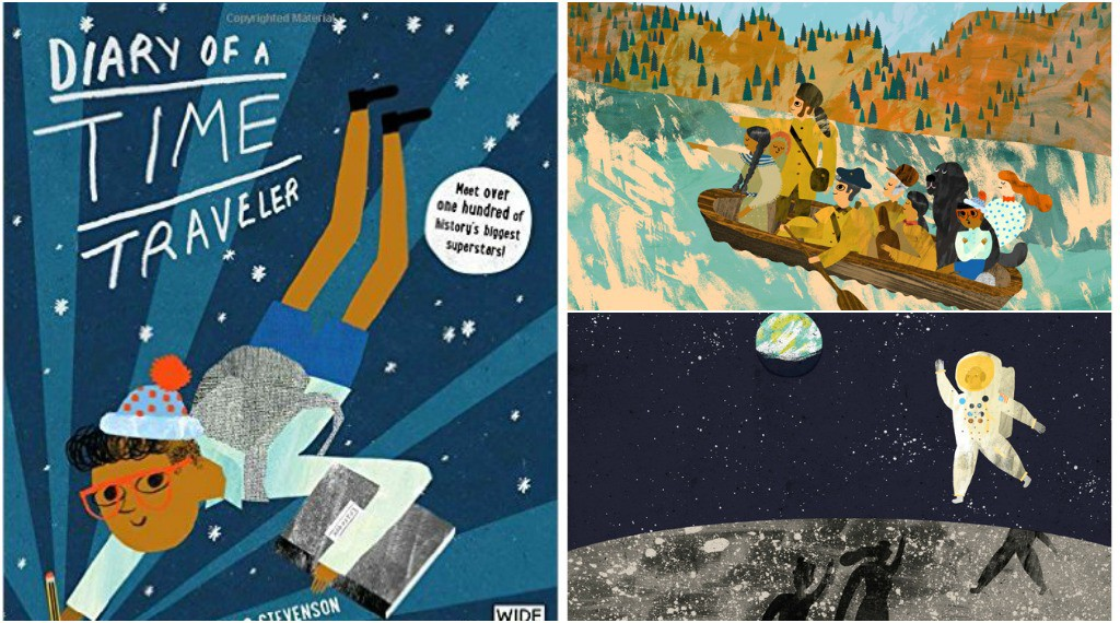 Best Books for Children Diary of a Time Traveller by David Long and Nicholas Stevenson.