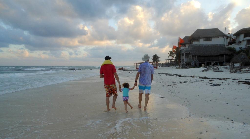Family travel Mexico
