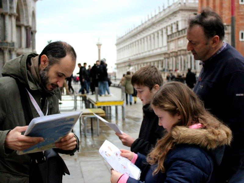 Venice treasure maps livitaly