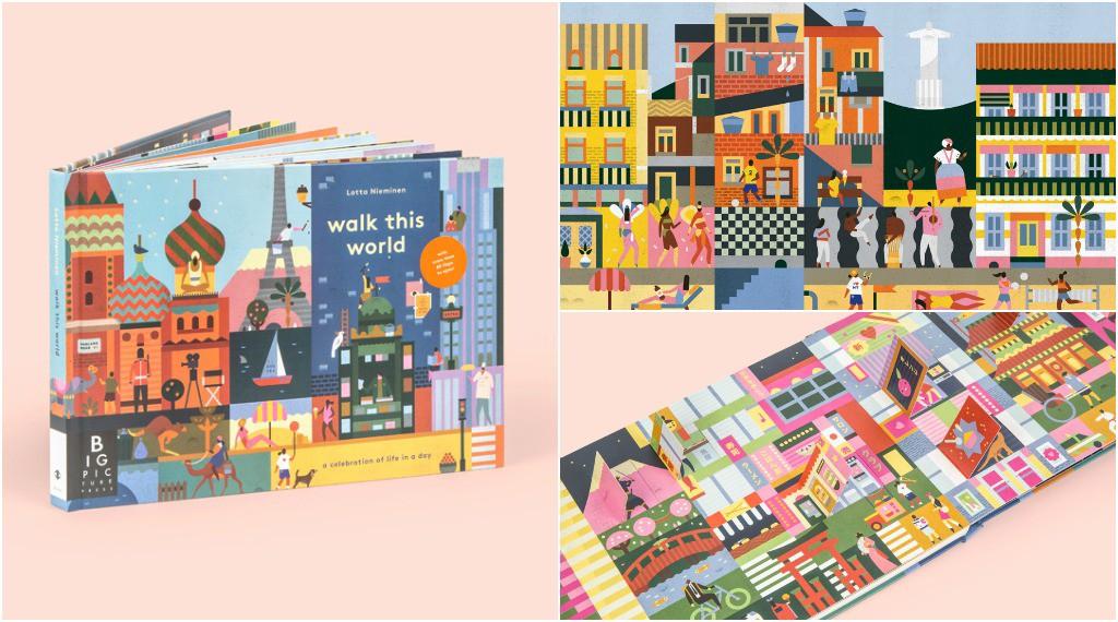 Best Books for Children Walk This World by Jenny Broom & Lotta Nieminen.