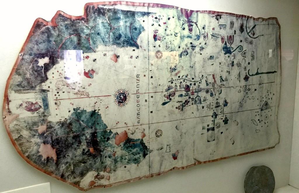 World Map by Juan de La Cosa