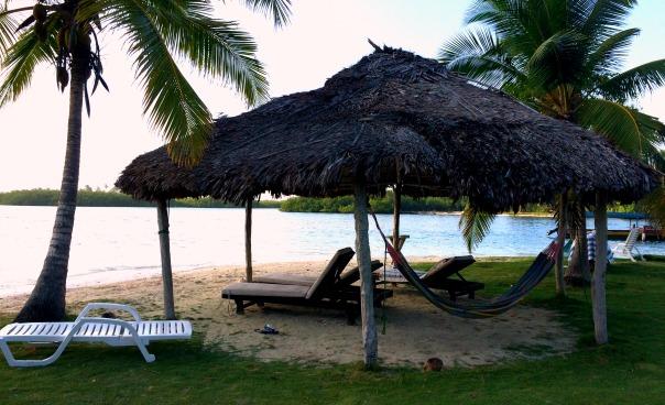 The little beach area on Yandup