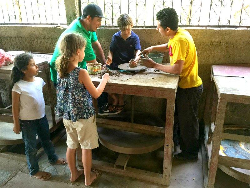 Nicaragua with Kids: San Juan de Oriente