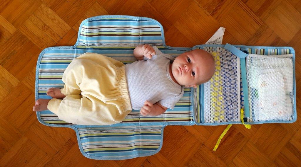 Munchkin changing mat
