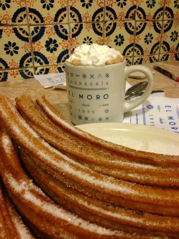 Mexico City with Kids: The Best Churros in the City at El Moro