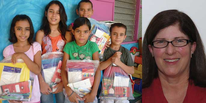 A project in Costa Rica & Rebecca Rothney, founder of Pack for a Purpose.