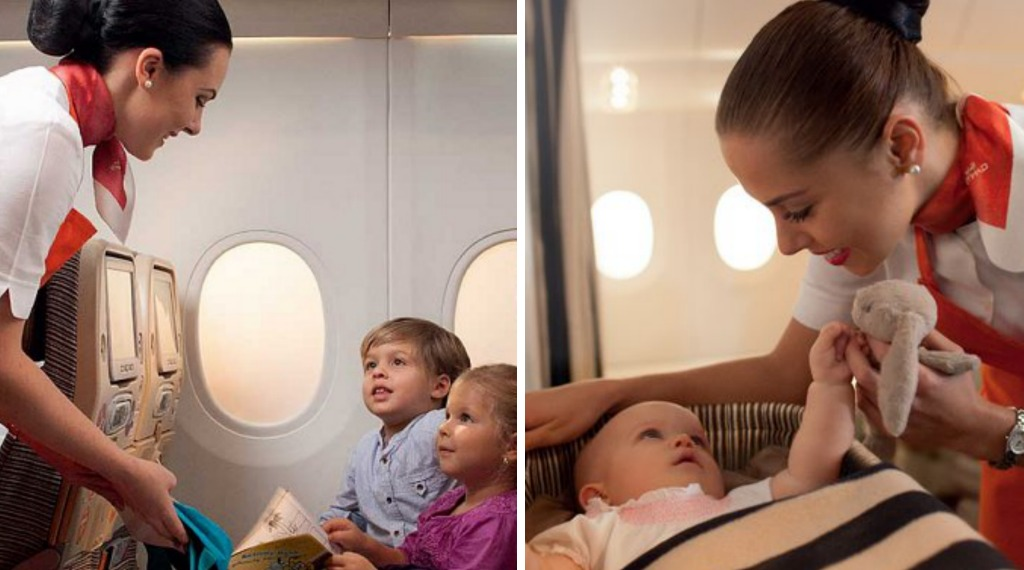 Ethiad AIrlines' Sky Nanny - possibly the best addition to an airline ever.